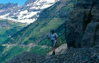 Hiking the Garden Wall, Glacier National Park, Montana