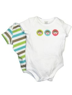 Baby Starters Baby-boys Newborn Sock Monkey 2 « Clothing Impulse