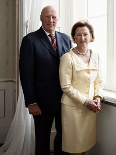 royals   King Harald and Queen Sonja of Norway