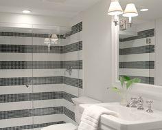 1000 images about decorating ideas bath on pinterest - Bathroom tile vertical stripe ...
