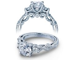 INSIGNIA-7074R engagement ring from The Insignia Collection of diamond engagement rings by Verragio