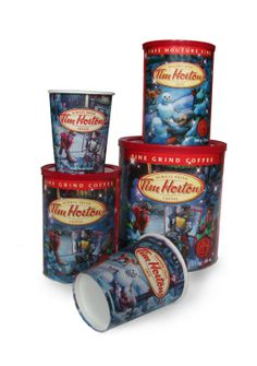 Shelagh Armstrong, Illustrator: Tim Hortons's Holiday Cup 2010