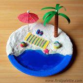 Laat de kids op een regenachtige zomerdag gewoon hun eigen strand bouwen.