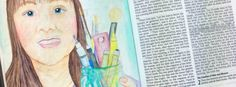 Inktense Pencils Tutorial – Bible Art Journaling Challenge Week 17