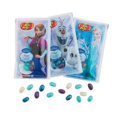 $12.00 a dozen    Disney's Frozen Jelly Belly® Packs - OrientalTrading.com