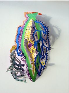 juliette jouannais Sculpture Art, Sculptures, Paper Art, Paper Crafts, Plexus Products, Paper Cutting, Art Direction, Paint Colors, Collage
