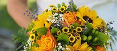 Bouquet de la mariée tournesols et lavande -fleuriste-mariage-Jouques-Peyrolles