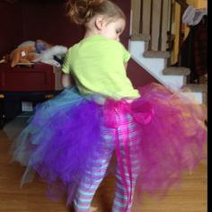 The Back side of McKennas tutu