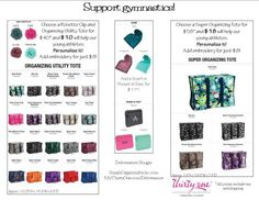 My fundraiser for a local gymnastics group.  https://www.facebook.com/pages/Deliverance-Bougie-Simpliorganyz/152233718318662 MyThirtyOne.com/Deliverance @SimpliOrganyz