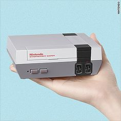 Cue the nostalgia: Nintendo is releasing a mini version of its classic gaming console July 14