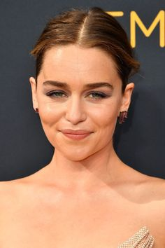 You Have to See What Emilia Clarke Looks Like With Bangs