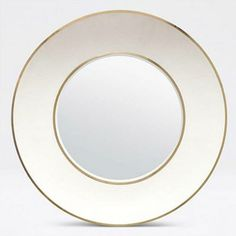 The wide frame and concave circular shape of the Armond Wall Mirror from Made Goods brings out the impressive pattern of its snow-colored faux shagreen finish. The sycamore and walnut trim tastefully highlight the sophisticated material, making this home accessory a eye-catching statement piece. Imagine this stunning piece in your entry, dining room or master bedroom!