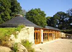 The Groundhouse in Brittany, France. Brittany's solar-powered Groundhouse built by Daren Howarth & Adrianne Nortje.