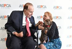 Animal hero, war hero, former Senate Republican hero Bob Dole joined dogs, cats, and ASPCA for 'Paws for Celebration' on Capitol Hill July 30. Also, he's a new adviser to the U.S. Humane Society.