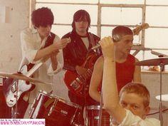 Crash Course rehearsing, Spring 1978. (© Michael Reid)