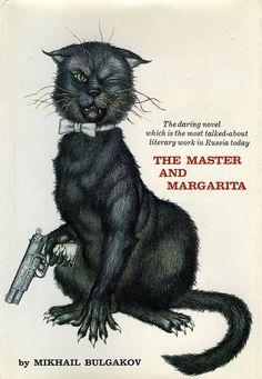 "Jacket design for the U.S. first edition of Mikhail Bulgakov's ""The Master and Margarita"". Illustrator Mercer Mayer (1967). S)"