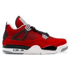 online store e56e5 e4375 308497-603 Air Jordan 4 IV Toro Bravo Fire Red White Black Cement Grey 2013