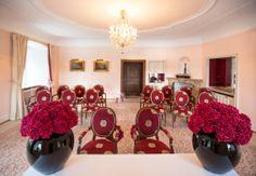 Standesamtliche Trauung im Rosa Salon Pink, Drawing Rooms, Civil Ceremony