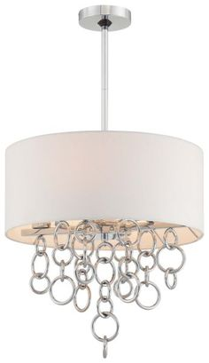 George Kovacs P612-5-077 Ringlets 4 Light Contemporary Pendant In Chrome is made by the brand George Kovacs and is a member of the Ringlets collection. It has a part number of P612-5-077.