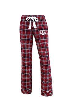 free shipping b205b bb95e Texas A M Aggies Womens Maroon Flannel Loungewear Sleep Pants - 5621336