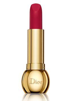 Labial en tonos fresa Diorific Diva, de Dior.