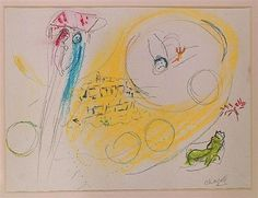 Song of Songs III - Marc Chagall  1960