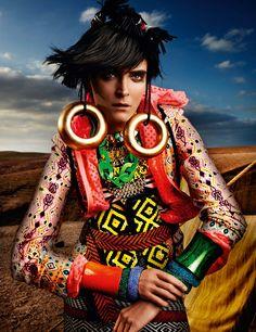 Mario Testino for Vogue UK May 2012