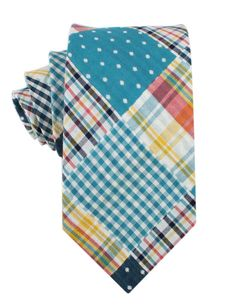 A Little Bit of Everything Necktie - Adult Size Polka Dot Bow Tie, Polka Dots, Christmas Ties, For You Blue, Blue Gingham, Skinny Ties, Plaid, Neck Ties, Tartan