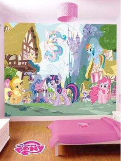 Exceptional My Little Pony My Little Pony Wall Mural Part 5