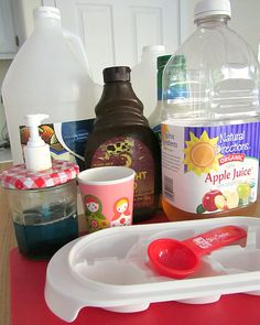 Kitchen Science - What will freeze first?