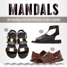 Mandals: Would You Wear Them? - The GentleManual Femininity, Gentleman, Take That, How To Wear, Men, Shoes, Fashion, Zapatos, Moda