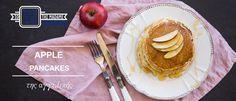 Pancakes με μήλο & κανέλα Pancakes, Apple, Breakfast, Food, Gastronomia, Apple Fruit, Morning Coffee, Essen, Pancake