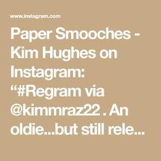 """Paper Smooches - Kim Hughes on Instagram: """"#Regram via @kimmraz22 . An oldie...but still relevant 😁I cut the holes with the Stitched Square Die, then die cut the circle with the…"""" Kim Hughes, Paper Smooches, Die Cutting, Be Still, Instagram"""