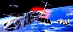 Space 1999: Meta Probe escort by Tenement01.deviantart.com on @DeviantArt