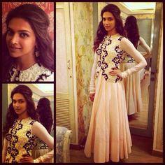 Deepika Padukone for 'Ram-leela' promotions