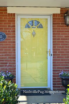 Finding the perfect color for your front door is an easy ...