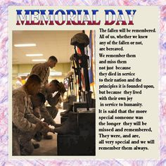 Memorial Day Posts For Facebook | Posted by Misha at 3:32 PM No comments: