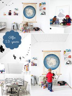 Met Melk & Suiker: kids room: room to bloom Boys Bedroom Decor, Childrens Bedroom, Baby Bedroom, Nursery Decor, Bedroom Ideas, Kids Corner, Room Themes, Kid Spaces, Kids Decor