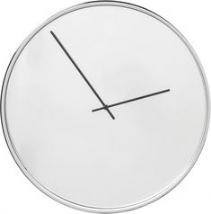 Nástěnné hodiny Timeless Mirror O40 cm Kare Design, Sweet Home, Clock, Wall, Future, Home Decor, Mirror, Silver, Vase Of Flowers