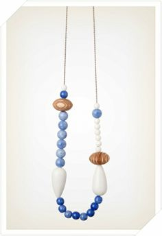 Blue Berry Ply - Bead Necklaces | Angus and Celeste
