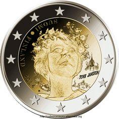 2 Euro Finlandia 2014. Tove Jansson