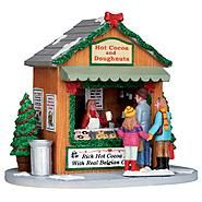 Coventry Cove by Lemax Christmas Village Accessory, Hot Cocoa Stand at Kmart.com