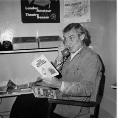 Spike Milligan, Still Image, Comedians, Comedy, Writer, British, Actors, Reading, Writers