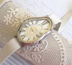 Salvador Dali Watch - Women's Watches - Leather Watch - Wrist Watch - Watches…