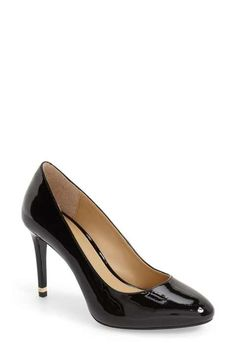 MICHAEL Michael Kors 'Ashby' Almond Toe Pump (Women)