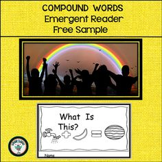 Compound Words is an Interactive Emergent Reader with a focus on developing the concept of a compound word. This reader would be useful for whole class instruction or or for use in your literacy centers rotation.  Materials in this set are:Interactive Emergent Reader (6 pages)Corresponding pictures to insert into the booklet (1 page)**************************************************************************This interactive emergent reader is part of a much larger week-long unit.Check it out…