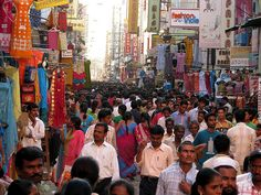 I have never been in a city this crowded since. Amazing food!  -Chennai (Madras), India