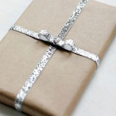 {holiday inspiration : gift wrapping with kraft paper} by {this is glamorous}, via Flickr