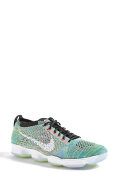 Free shipping and returns on Nike 'Flyknit Zoom' Agility Training Shoe (Women) at Nordstrom.com. Ideal for hard-training gym sessions, this breathable, high-performance mesh shoe features an articulated Zoom Air midsole, complete with strategically placed pressure pods for cushioning, flexibility and responsiveness. A cushioned collar lining provides ultimate comfort and support, while more pods on the outsole ensure multi-surface traction and durability.