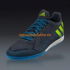 the latest 9e7e0 86afd Zapatos soccer Para Hombre Adidas Ace 16.1 CG (VS) Turf Marina De Noche  Semi Limo Solar Choque Azul